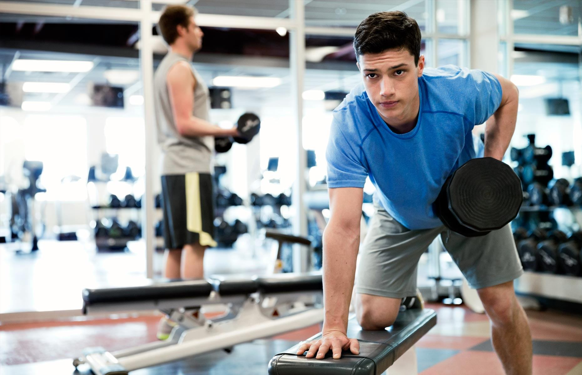программа тренировок для похудения девушки в спортзале