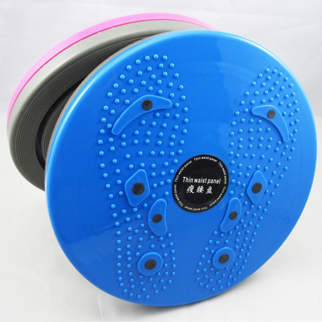 Thin-waist-plate-fitness-twist-disk-professional-magnetic-therapy-home-twister-device