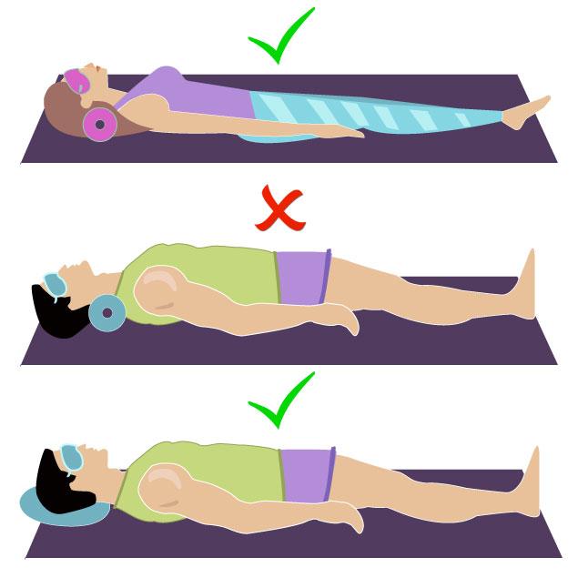 poziția de somn pentru a pierde în greutate