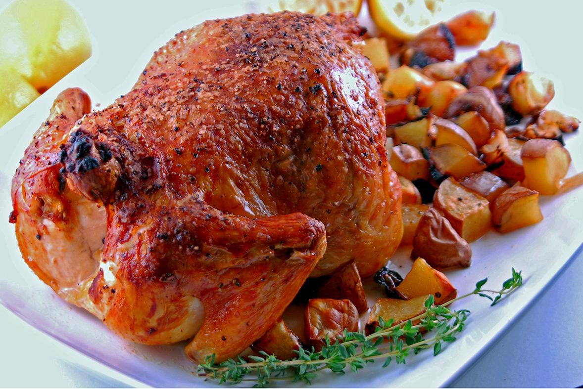 garlic-roast-chicken