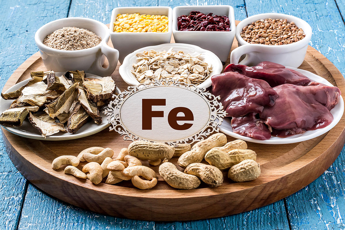 which foods are a good source of iron and minerals