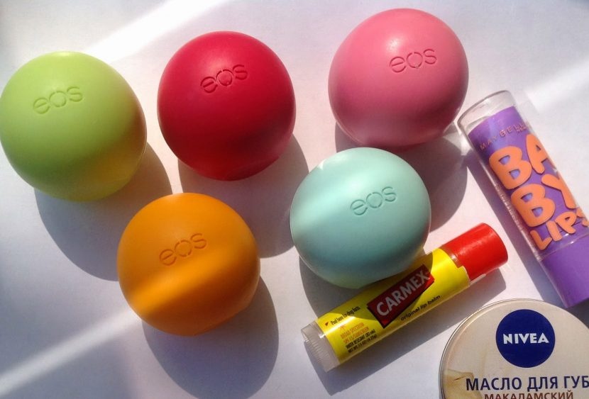 8 бальзамов для губ включая натуральный для тех кто работает в