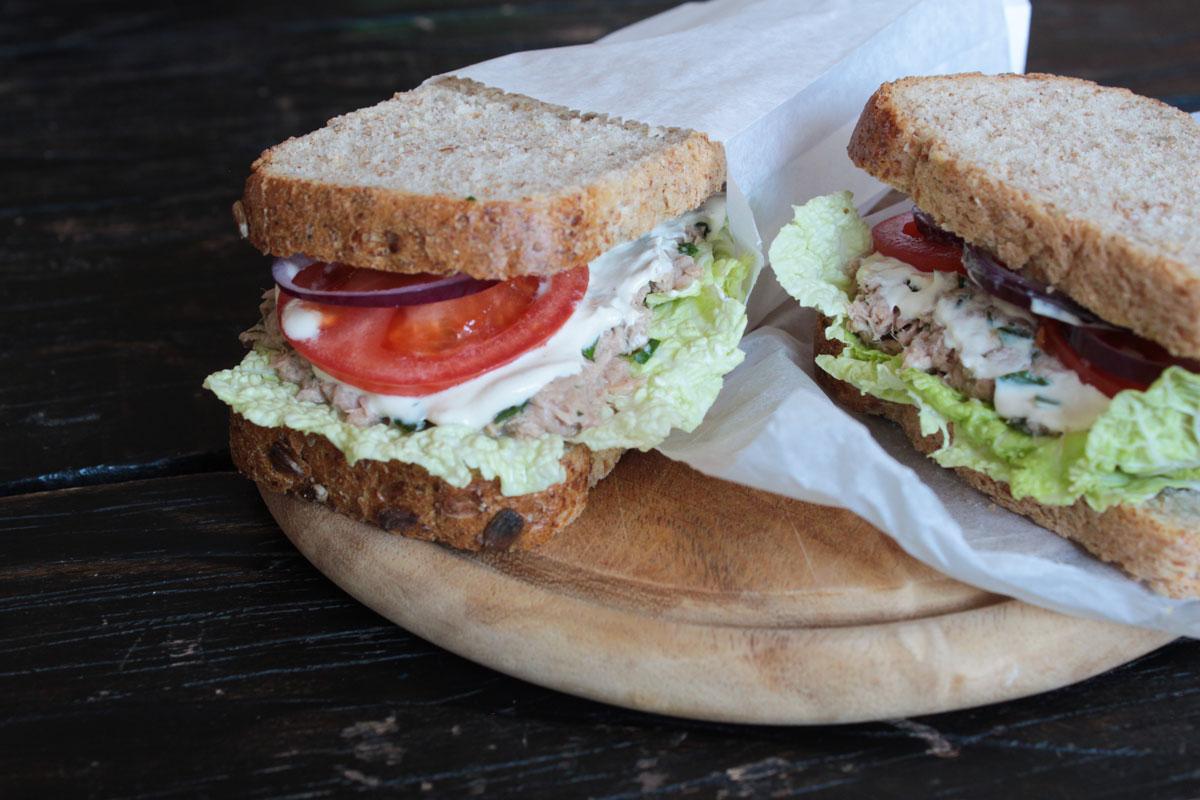pierde greutatea cu sandwich- uri de ton
